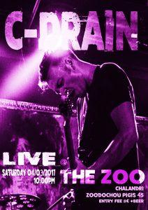 C-DRAIN LIVE @ THE ZOO